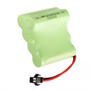 NiMH акумулаторна батерия AA2400 6V акумулаторна електрическа играчка инструменти Батерия