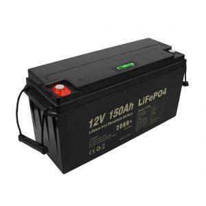 Акумулаторна батерия за дълбок цикъл Lifepo4 12v 150Ah 200Ah 250Ah 300Ah