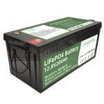 Горещи продажби 2.56KWh lifepo4 батерии 12v 200Ah 6000 цикъла rv батерия