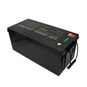 Нов дизайн акумулаторни батерии LiFePO4 12V 200Ah литиево-йонни батерии без поддръжка