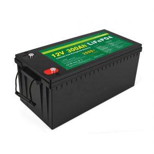 ВСИЧКО В ЕДНА Литиево-йонна батерия Дълбок цикъл 12v 300Ah LiFePo4 акумулаторна батерия