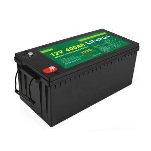 Фабрична цена Слънчева LFP батерия с дълбок цикъл 12v 400Ah Слънчева LiFePO4 батерия