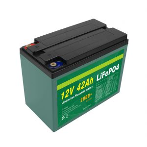Поддръжка Персонализирана слънчева 12v 40ah 42ah Lifepo4 Cell Lifepo4 батерия с BMS