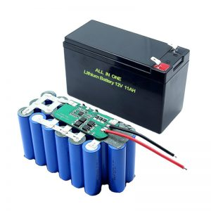 ВСЕ В ЕДНО 18650 3S5P 12Volt литиева батерия 11Ah акумулаторна литиева батерия
