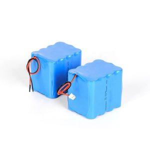 Персонализирана акумулаторна литиева батерия 18650 с високо разреждане 3s4p 12v литиево-йонна батерия