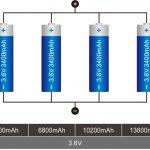 18650 Свързване на литиева батерия