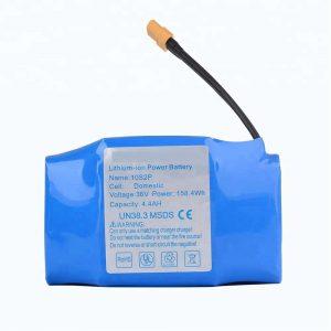 Най-продавана литиева батерия за ховърборд 36v 4400mah 10s2p