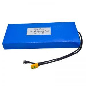 На едро 15Ah 48V литиева батерия за електрически скутер
