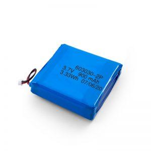 Потребителска акумулаторна 3.7V 450 530 550 700 750 800 900Mah Li-Po Lipo батерия