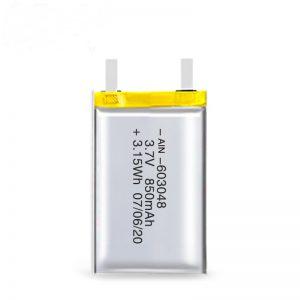 Акумулаторна батерия LiPO 603048 3.7V 850mAh / 3.7V 1700mAH / 7.4V 850mAH