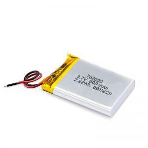 Китай на едро 3.7V 600Mah 650Mah мини литиево-полимерна литиева батерия пакет за акумулаторни играчки