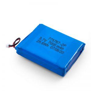 Персонализирана 3.7V 2450 2600 3900 4000 4500 4700 5000 6000 9000Mah полимерна Lipo батерия