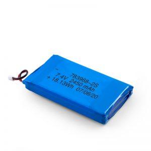 Акумулаторна батерия LiPO 783968 3.7V 4900mAH / 7.4V 2450mAH / 3.7V 2450mAH /