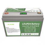 Всичко в едно Дълбок цикъл 12V100Ah LiFePO4 батерия с интелигентен BMS за битова система за съхранение на енергия
