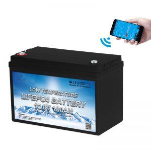 Нискотемпературна батерия LiFePO4 12V 100AH