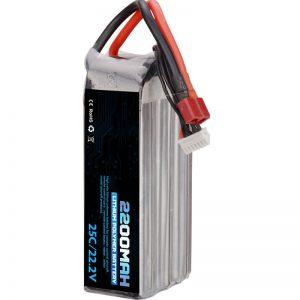 гореща продажба акумулаторна литиево-полимерна батерия 22000 mah 6s lipo