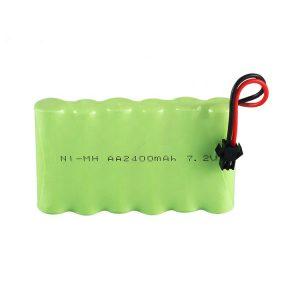 NiMH акумулаторна батерия AA 2400mAh 7.2V