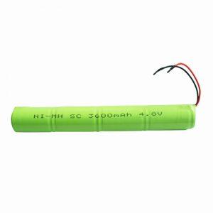 NiMH акумулаторна батерия SC 3600mAH 4.8V